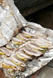 Barbecued Lemon Sardines
