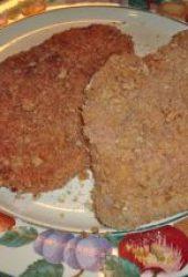 uncooked schnitzel
