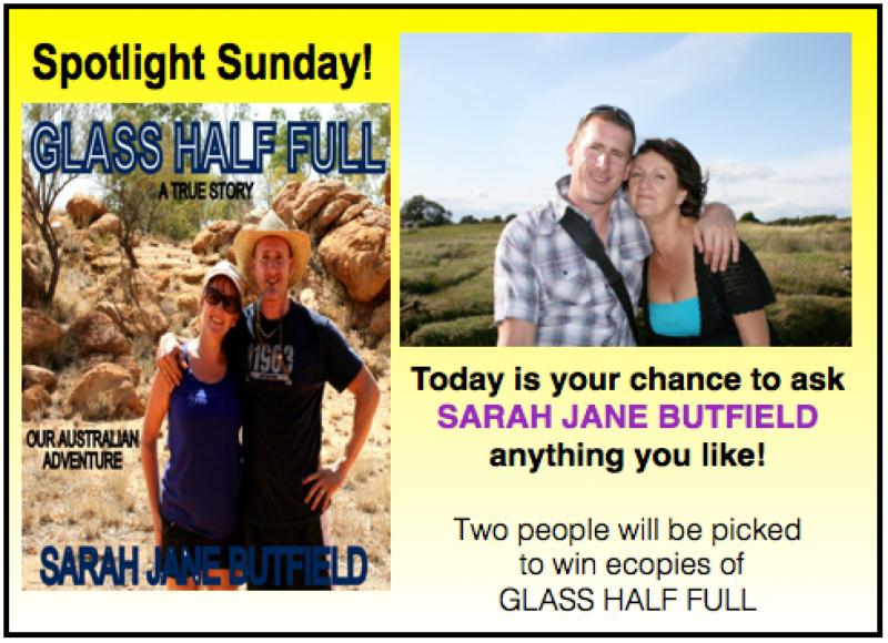 Sarah Jane Butfield Sunday Spotlight
