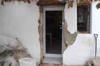 Progress on the new kitchen door
