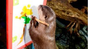 Photo#15-OtterPainting