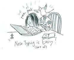 Photo#37-NoseTyping