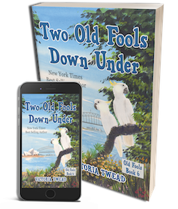 Two Old Fools Down Under paperback and Kindle