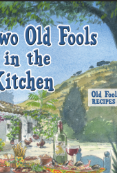 Two Old Fools in the Kitchen